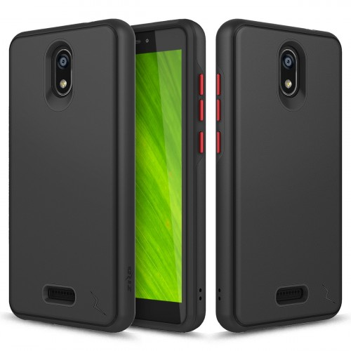 ZIZO DIVISION CRICKET ICON SMARTPHONE CASE - DUAL LAYERED AND SHOCKPROOF PROTECTION - Black