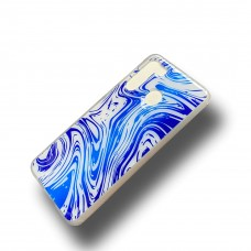 Candy Skin For Samsung A21 Color-White/Blue
