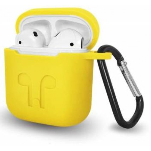 REIKO Silicone Case For Airpod in Yellow