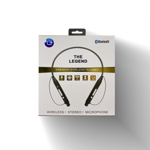 L Plus The Legend Premium Wireless Headset-Black