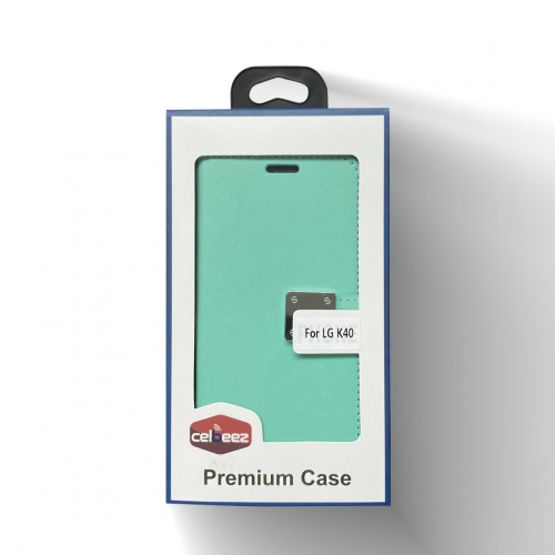 Wallet With Magnet Clip For LG Aristo 4 Plus Color-Teal