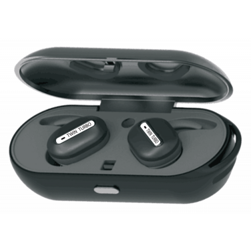 L Plus Twin Turbo Bluetooth Premium Wireless Earbuds-Green