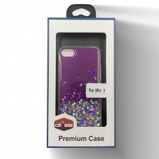 Glitter Candy Case For Iphone 6/7/8 Color-Purple