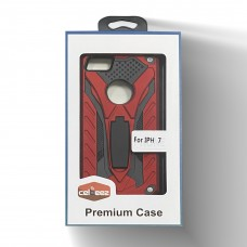 Hybrid Transform Case For Iphone 6/7/8 Color-Red
