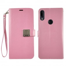 Wallet With Magnetic Clip For Iphone 6/7/8 Color-Rose Gold